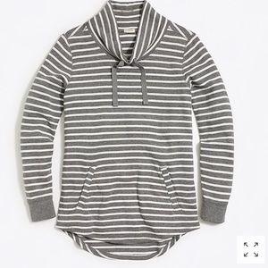 J. Crew Factory 100% Cotton Striped Pullover